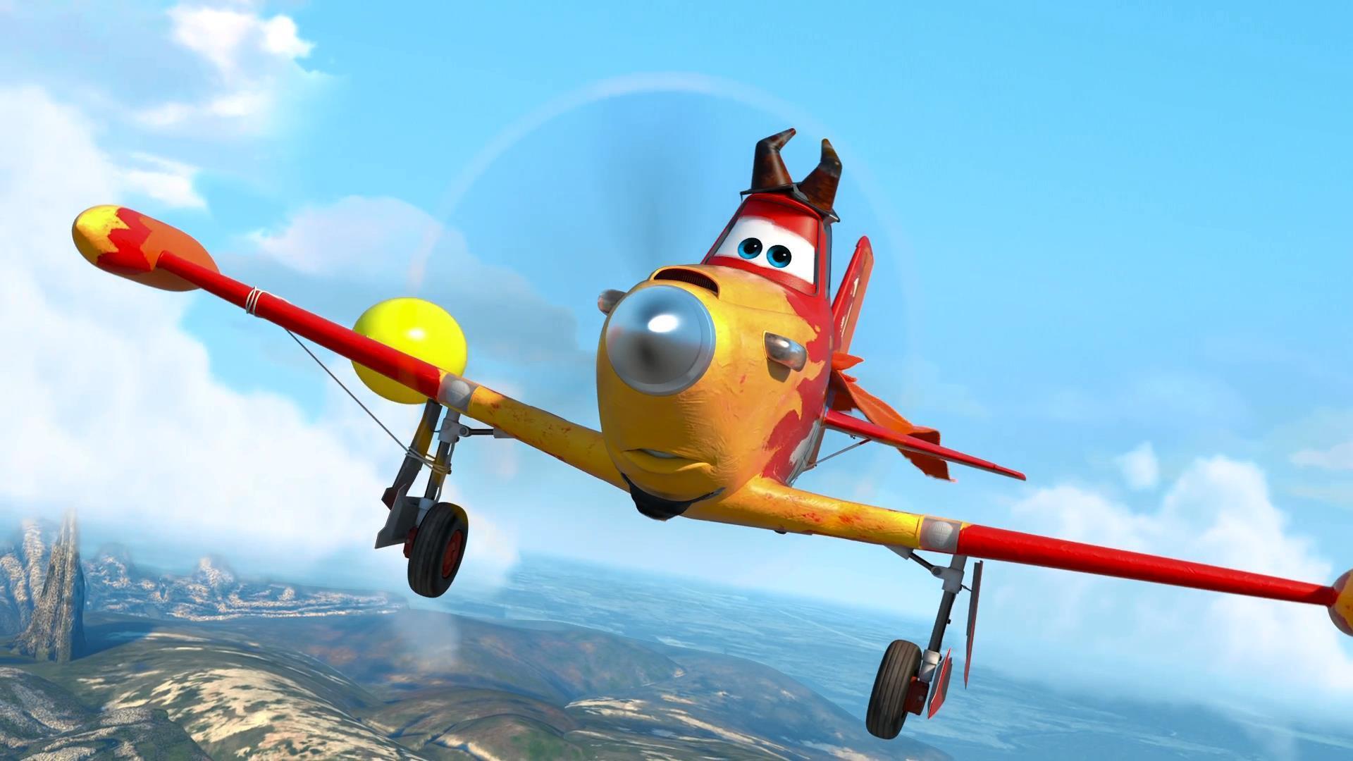 Самолеты картинки из мультика