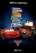Cars-2 Georgian Poster
