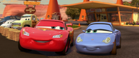 Cars 2 - Lightning and Sally