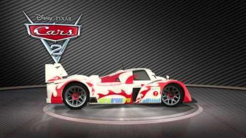 Cars 2 - Shu Todoroki