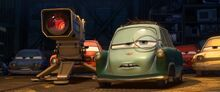 Cars 2 Professor Z Rod Eedline death scene