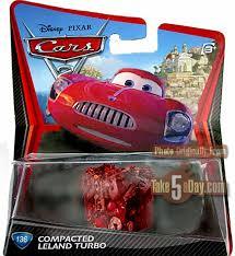Compacted Leland Turbo diecast packaging