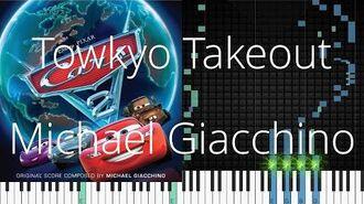 🎹 Towkyo Takeout, Michael Giacchino, Synthesia Piano Tutorial