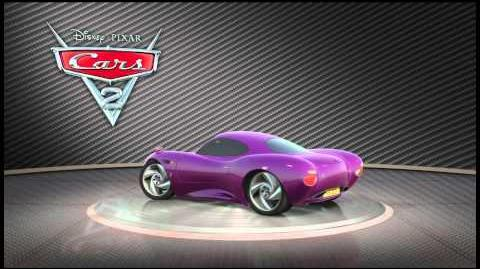 """Cars 2 Turntable """"Holley Shiftwell"""""""