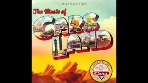 """The Music of Cars Land """"Big Bull Dozer"""" (Larry The Cable Guy)"""