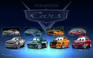 Pixarized Cars by danyboz 2