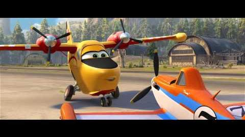 "Disney's ""Planes Fire & Rescue"" Trailer 1 - Courage"