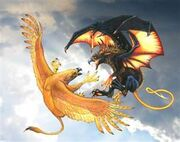 Sun Griffin Ikamazai vs. Night Griffin Vyraska