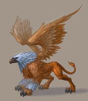 Feather Griffin Garetin