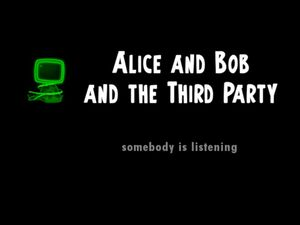 Alice and Bob and the Third Party title