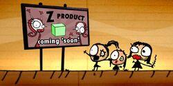 Product Z billboard