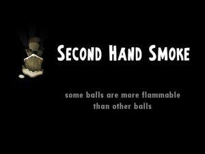 Second Hand Smoke title