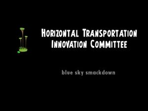 Horizontal Transportation Innovation Committee title
