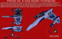 Freitek e wing escort starfighter ortho update by unusualsuspex dalclct-pre