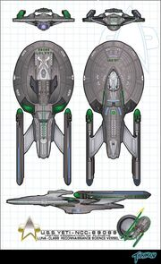 Uss Yeti Luna Class Variant