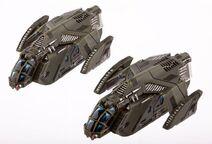 Space ranger patrol ship