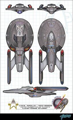 USS Apollo Luna-Class Variant