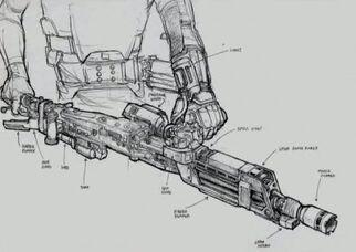 Colonial marine smartgun