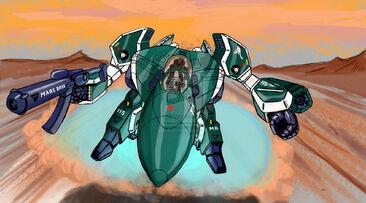 Robotech alpha patrol by leelf-d396l25