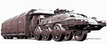 Armoured transport