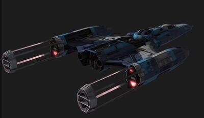 Next gen y-wing rear by ec henry