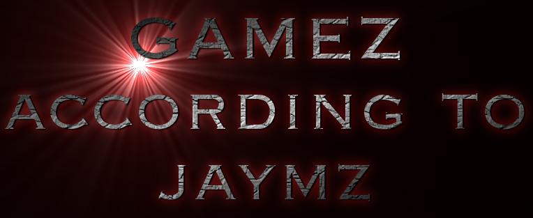 Gamez according to jaymz logo