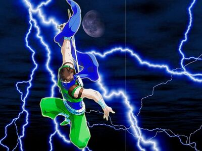 Strider Storm Jump Green Gi
