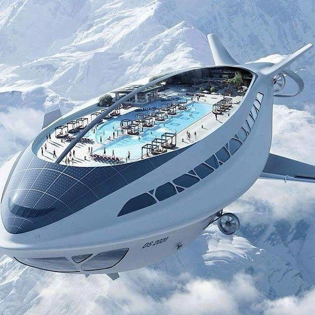 Here S What Cars Will Look Like In 30 Years: Airship Cruiseliner