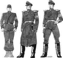 Cs field and dress uniforms
