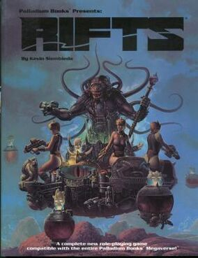Rifts RPG 1st Ed 1990