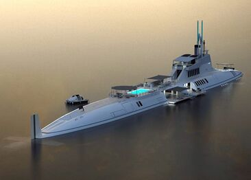 Submersible yatch