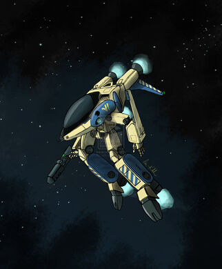 Robotech logan black lion vi by leelf-d30efa1