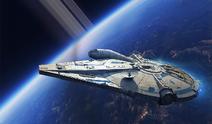 Landos Millennium Falcon Exp Pack box art