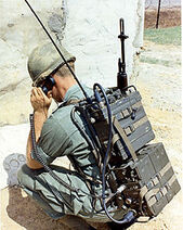 Pack radio