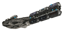 YT-1300 intermodal freight pods