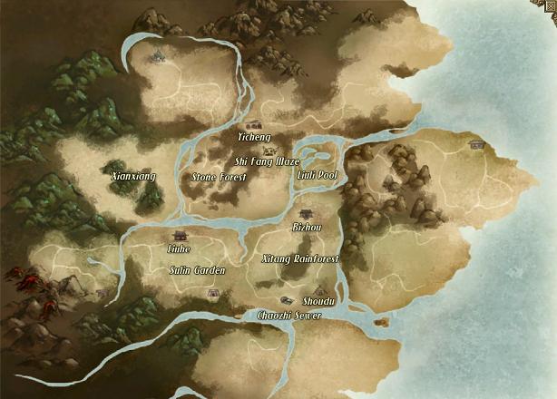 Wokf map