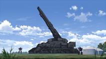 Britannian railway gun