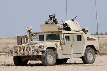 US Army MG Humvee