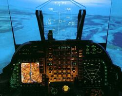 Harrier Cockpit