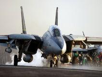 F-14 Takeoff from Kitty Hawk