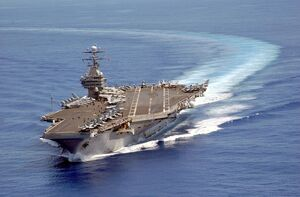 CcUSS Carl Vinson on patrol in the Pacific 2003-06-10