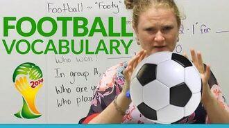 Learn English FOOTBALL Vocabulary