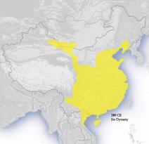 Western Jeun Dynasty 280 CE