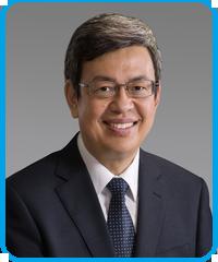 Vice President Chen Chien-jen blue