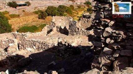 Pukara de Lasana. Asentamiento Atacameño. Segunda región de Chile