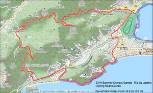 Rio de Janeiro-2016-Summer-Olympics-Cycling-Vista-Chinesa-Circuit