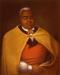 Kamehameha I, portrait by James Gay Sawkins