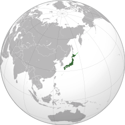 Japan (orthographic projection) svg