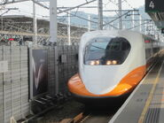 台灣高鐵進站1