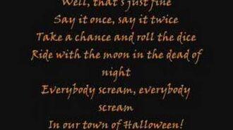 Marilyn Manson - This is Halloween lyrics